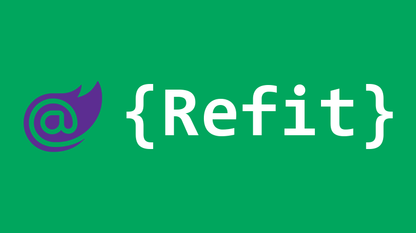 Using Refit REST library with client-side Blazor