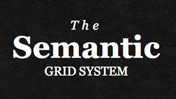 Abstracting grid implementation with mixins using Semantic grid - LESS CSS